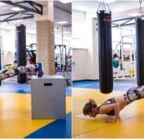 Упражнения для пресса и груди