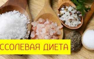 Рецепты без соли для похудения