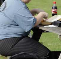 Плакат профилактика ожирения