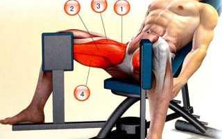 Упражнение сведение ног