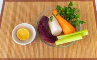 Салат щетка для похудения рецепт классический