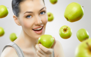 Яблочная диета на 7 дней меню