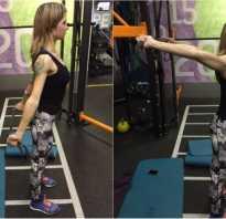 Упражнение с лентой для начинающих