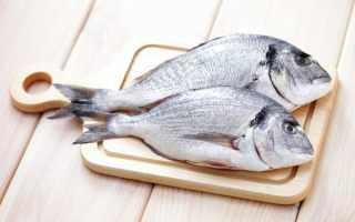 Таблица жирности морской рыбы