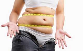 1 стадия ожирения