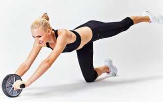 Упражнения с гимнастическим роликом видео