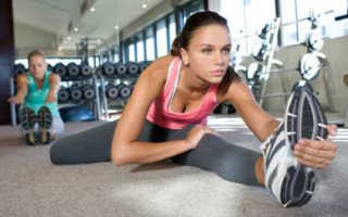Тренировка на похудение в тренажерном зале