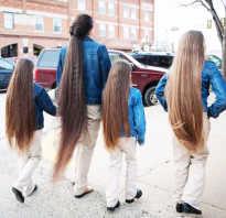 Бешеный рост волос