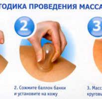 Вакуумный массаж спины банками в домашних условиях