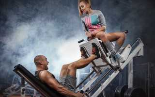Упражнения для похудения ягодиц для мужчин