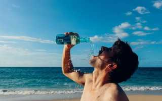 Таблица сколько нужно пить воды