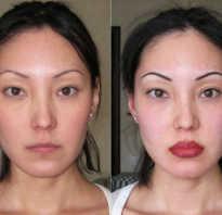 Как выглядят губы после перманентного макияжа