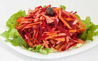 Рецепт салата щетки