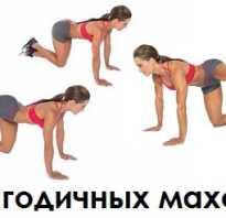 Отведение ноги назад в тренажере ягодичные мышцы