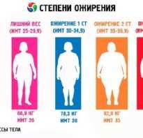 Ожирение 1 степени у мужчин лечение